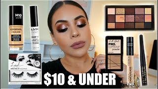 Download FULL FACE NOTHING OVER $10: AFFORDABLE MAKEUP TUTORIAL | JuicyJas Video