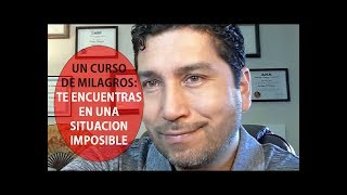 Download 66. UN CURSO DE MILAGROS: Te Encuentras En Una Situación Imposible Video