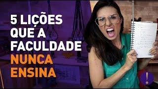 Download 5 LIÇÕES QUE A FACULDADE NUNCA ENSINA Video