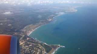 Download Pouso em Recife, Aeroporto Internacional dos Guararapes - Cabeceira 36 Video