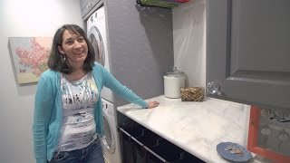 Download You Won't Believe What This Mother of 6 Did to Totally Rock Her Laundry Space Video