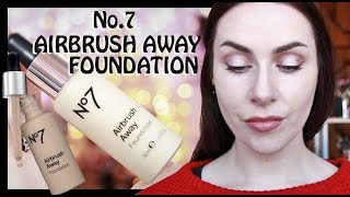 Download No.7 AIRBRUSH AWAY FOUNDATION | REVIEW & DEMO (ft. O! Wow Brush) Video