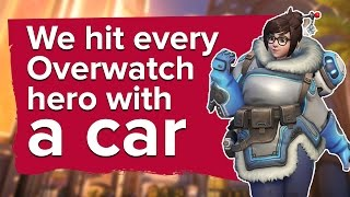 Download We hit every Overwatch hero with a car on new map Oasis Video