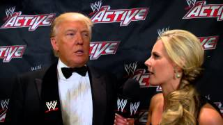 Download Donald Trump comments on his long relationship with Mr. McMahon: WWE Exclusive, April 9, 2013 Video