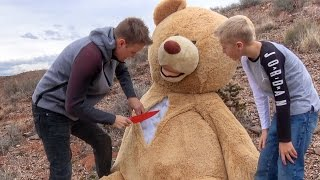 Download What's inside the World's Largest Teddy Bear? Video