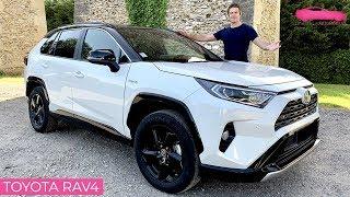 Download Essai Toyota RAV4 hybride 2019 - la SOLUTION pour les entreprises - Le Vendeur Automobiles Video