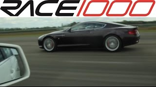 Download Aston Martin DB9 vs. Mercedes C63 AMG - ROLL RACE Video