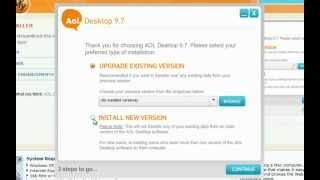 Download How to Install AOL Desktop 9.7 Video