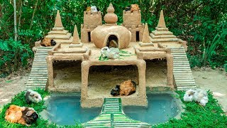 Download Build Most Beautiful Guinea Pig House With 7 Towers Temple And Tiny Swimming Pool Video