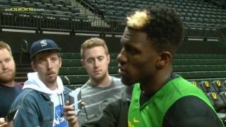 Download Dylan Ennis Discusses Senior Experience on the Hardwood Video
