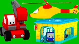 Download Szpital Z Małymi Samochodzikami: buldożer, dźwig, koparka, bajka edukacyjna Video