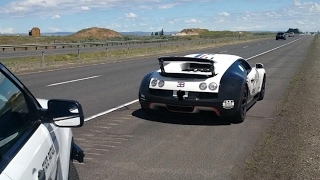 Download Bugatti Veyron Pulled over by the Washington State Patrol Video