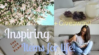 Download LIFE CHANGING BOOKS & INSPIRING ITEMS + Giveaway! Video