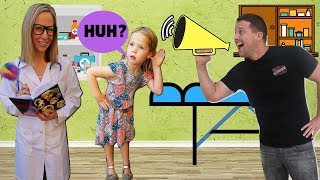 Download TOY DOCTOR Fixes Maya's Hearing !!! Video