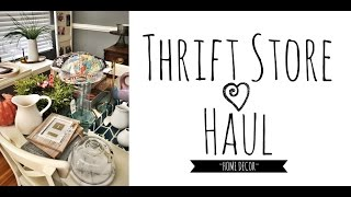 Download Thrift Store ~HOME DECOR~ Haul|E D I T H Video