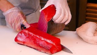 Download Japanese Street Food - Tsukiji Market MUST EATS Sashimi, Ramen, Seafood Japan Video