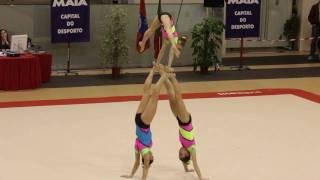 Download Gymnastics - Maia International Acro Cup - POR GCP W3 Junior Combined Video