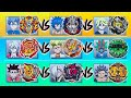 ANIME VS REAL LIFE: 9-Way Battle Battleship Cruise - Beyblade Burst Super Z/Turbo