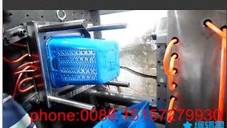 Download plastic laundry basket mould Video