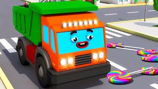 Download Camiones Infantiles - Camion MAX y Dulces en la ciudad - Coches Para Niños en Español Colección Video