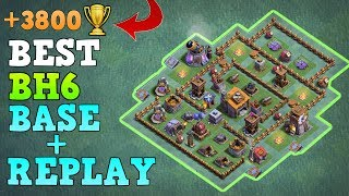 Download Best Builder Hall 6 Base / BH6 Builder Base wReplay / COC Anti 3 Star Base Layout | Clash of Clans Video
