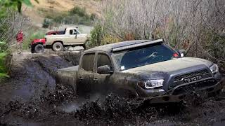 Download Toyota Tacoma vs Chevy Colorado! Mid-Size Shootout in Azusa Canyon OHV Video