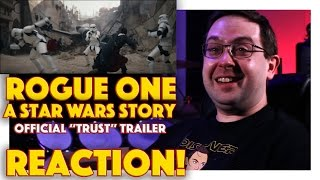 Download REACTION! Rogue One: A Star Wars Story Official ″Trust″ Trailer - Darth Vader Video
