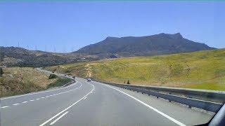 Download Spain: Driving to Málaga, Costa del Sol Video