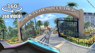 Download AWESOME Motiongate Dubai Theme Park 360 Degree Roller Coaster Tour! Video