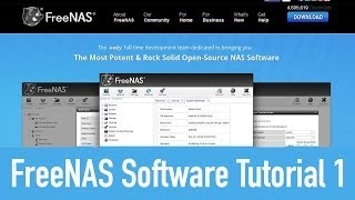 Download FreeNAS 9 Software Tutorial & Overview One Video