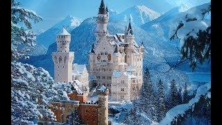 Download Neuschwanstein and Hohenschwangau Castles . DJI Phantom 3 Pro. 4K Video-Best of Europe Video