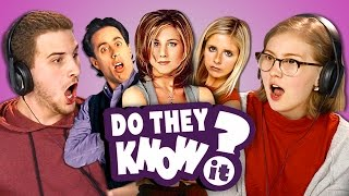 Download DO TEENS KNOW 90s TV SHOWS? (REACT: Do They Know It?) Video