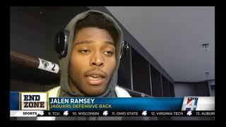 Download Jalen Ramsey on INT & Being Disrespected Video