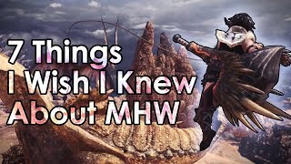 Download Monster Hunter World: 7 Tips I Wish I Knew Before I Started (Beginner Tips) Video