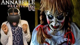 Download ANNABELLE IS A DEMON | Annabelle: Creation VR - Bee's Room Oculus Rift REACTION Video