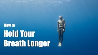Download How to Hold Your Breath Longer: a freediving tutorial from a professional freediver Video