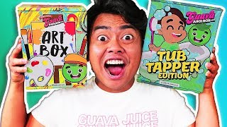 Download *NEW* GUAVA JUICE BOX Artsy Box Edition and MORE! (Unboxing) Video