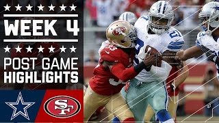 Download Cowboys vs. 49ers | NFL Week 4 Game Highlights Video