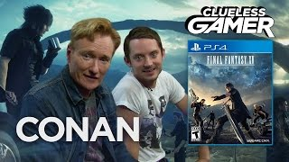 Download Clueless Gamer: ″Final Fantasy XV″ With Elijah Wood - CONAN on TBS Video