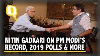 Download Nitin Gadkari Hails PM Modi's Leadership, Talks Tough on Pak, Trolls   The Quint Video
