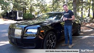Download Review: 2017 Rolls-Royce Ghost Black Badge Video