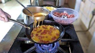 Download Traditional Turkish Breakfast Varieties Video
