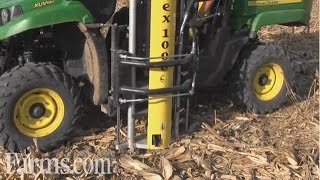 Download New Wintex 1000S Soil Sampling System on John Deere Gator In Action Video