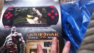 Download God of War Ghost of Sparta Red and Black PSP Unboxing Video