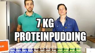 Download Vi Försöker Att Äta 7 Kilo Pudding (700 Gram Protein) Video