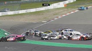 Download ADAC GT Masters 2017. Race 2 Nürburgring. Start Crash Video