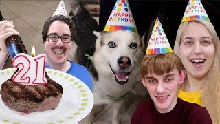 Download MY DOG'S 21st BIRTHDAY!!! (CRAZY PARTY) Video