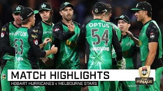 Download Stars stay alive as Hurricanes bow out | KFC BBL|08 Video