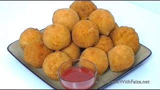 Download FRIED CHICKEN BREAD BALLS *COOK WITH FAIZA* Video