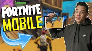 Download FAST MOBILE BUILDER on iOS / 785+ Wins / Fortnite Mobile + Tips & Tricks! Video
